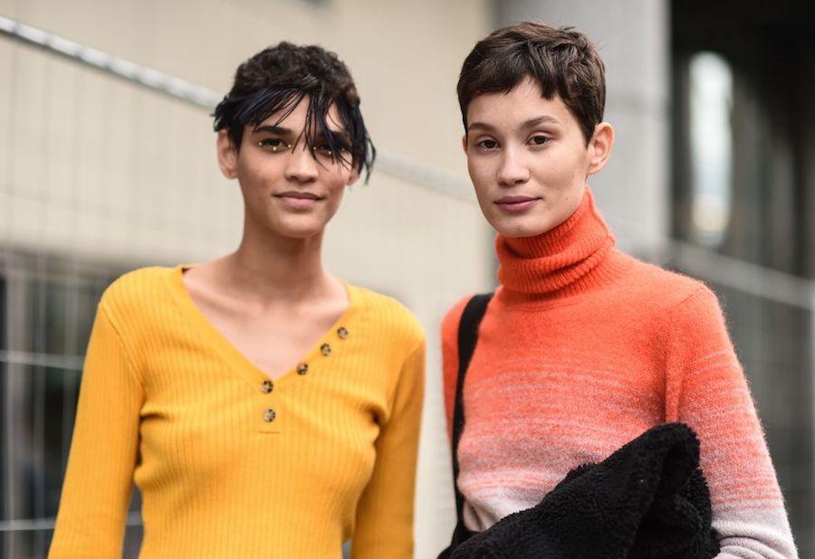 Pixxie pelo corto mujer 2021 dúo