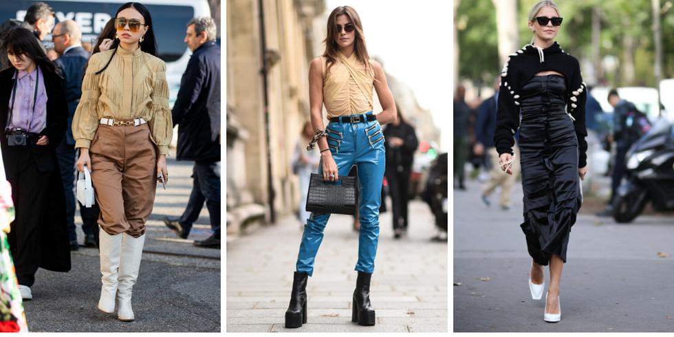 Tendencias de estilo en Instagram blusa elástica