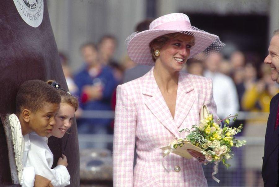 Chaqueta cuadros mujer Zara Princesa Diana