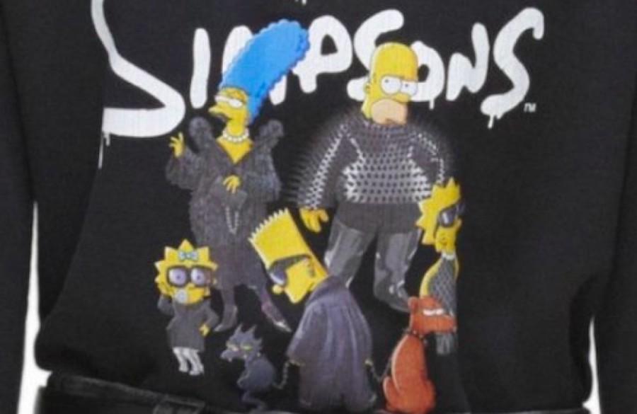 Balenciaga Los Simpson close up
