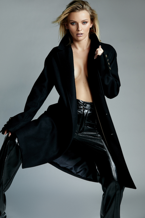 Cómo vestir elegante mujer irina baeva