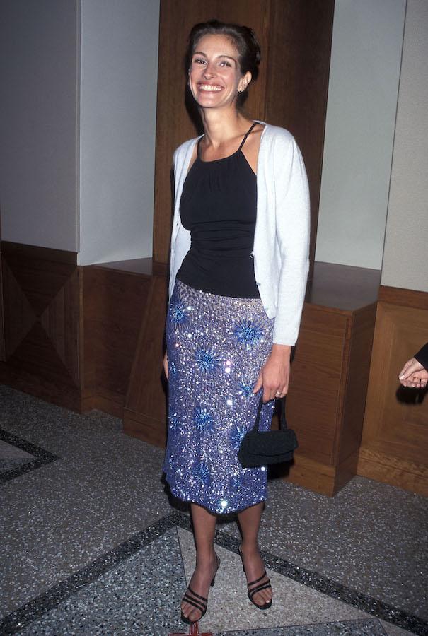 Looks de Julia Roberts falda