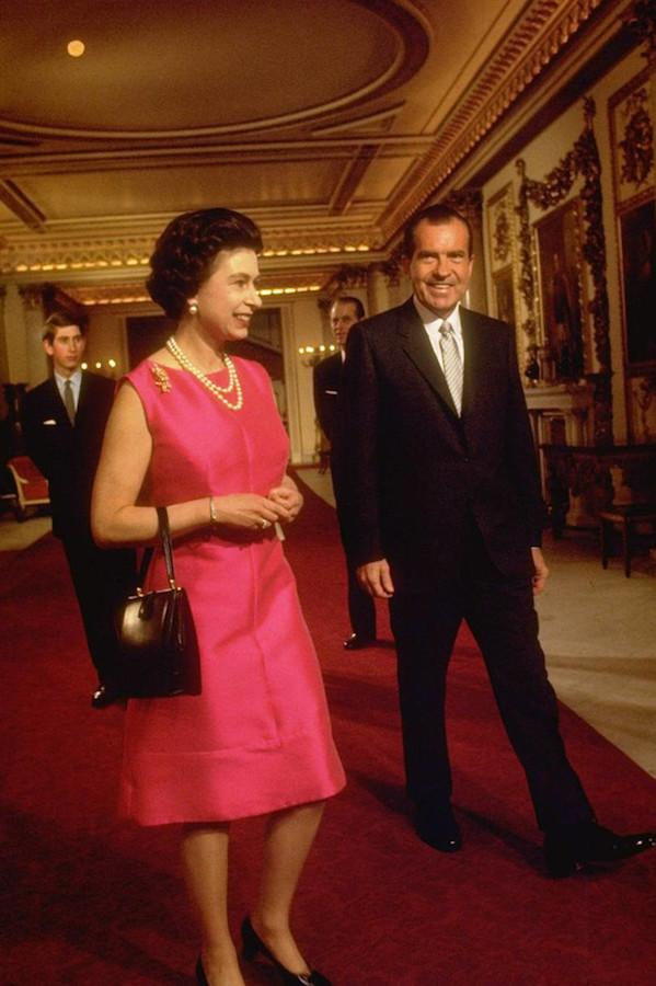 Reina Isabel II presidentes de Estados Unidos Nixon