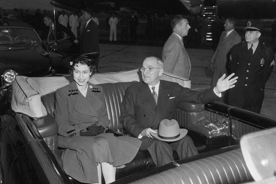 Reina Isabel II presidentes de Estados Unidos Truman