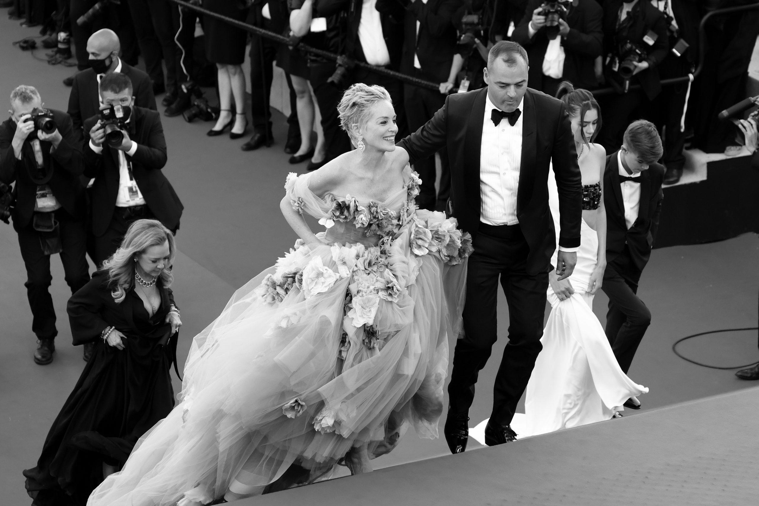 vestido de Dolce & Gabanna de Sharon Stone