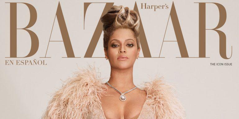 Beyoncé Cover Icon Issue 2021 Harper's Bazaar