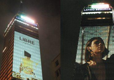 YSL Beauty y Dua Lipa edificios CDMX