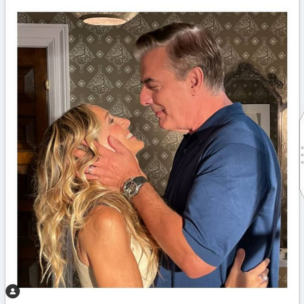 Carrie y Mr. Big en And Just Like That