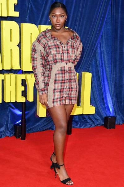 Isan Elba en el London Film Festival 2021